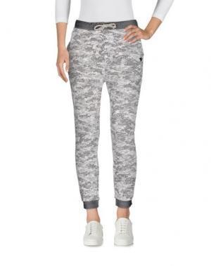 Повседневные брюки MY T-SHIRT. Цвет: серый