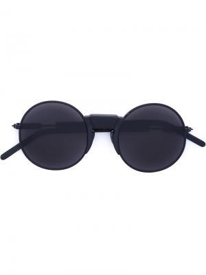 Солнцезащитные очки Mask Z2 Kuboraum. Цвет: чёрный