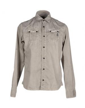 Pубашка DNM-BRAND. Цвет: серый