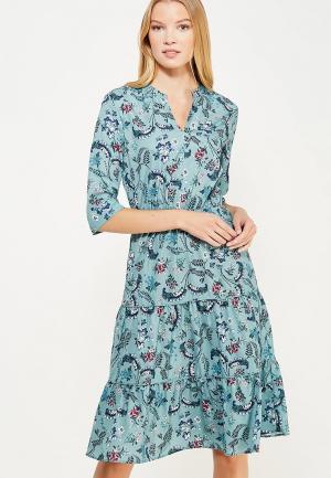 Платье Zarina. Цвет: бирюзовый