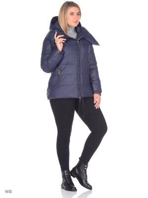 Куртка SML. Цвет: синий