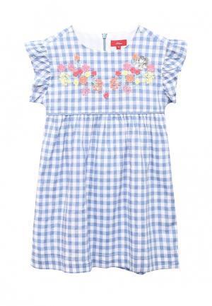Платье s.Oliver. Цвет: голубой