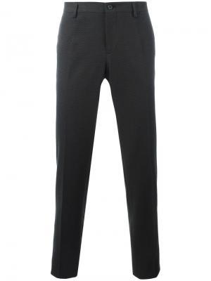 Строгие брюки Dolce & Gabbana. Цвет: чёрный
