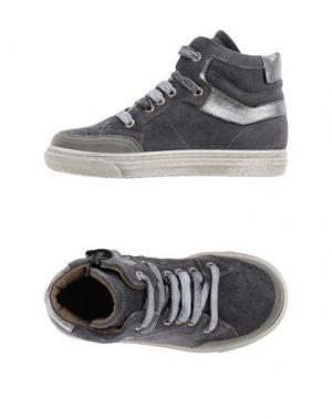 Высокие кеды и кроссовки GRANT GARÇON. Цвет: свинцово-серый