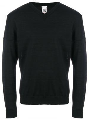 Классический приталенный свитер S.N.S. Herning. Цвет: чёрный