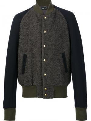 Куртка-бомбер Kolor. Цвет: серый