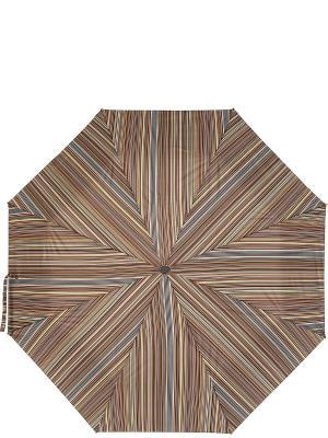 Зонт Labbra. Цвет: оливковый, белый, коричневый