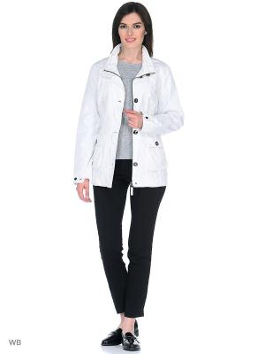 Куртка WEGA. Цвет: белый