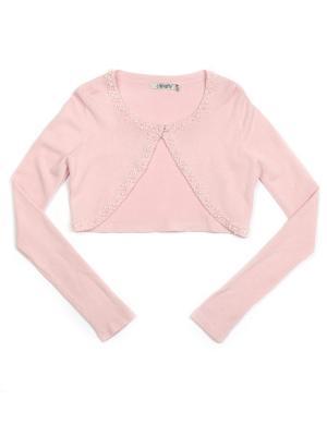 Болеро Cleverly. Цвет: розовый