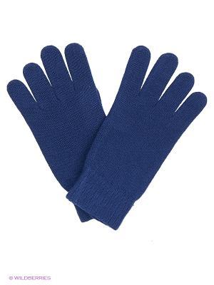 Перчатки United Colors of Benetton. Цвет: темно-синий