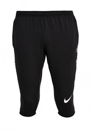 Бриджи Nike. Цвет: черный