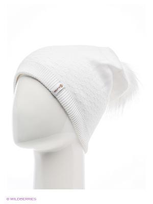 Роксана Беркле шапка женская с помпоном Berkle. Цвет: белый