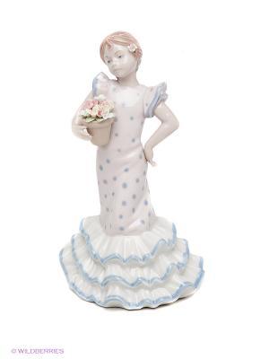 Статуэтка Мисс Ангелия Pavone. Цвет: бледно-розовый, белый, голубой