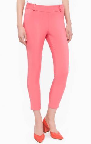 Укороченные брюки на молнии Kocca. Цвет: фуксия