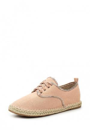 Ботинки Exquily. Цвет: розовый