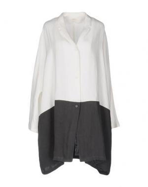 Легкое пальто A.B APUNTOB. Цвет: белый
