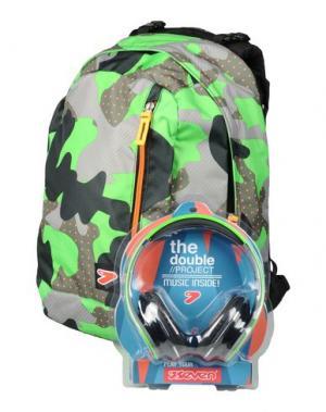 Рюкзаки и сумки на пояс SEVEN. Цвет: зеленый