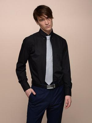 Рубашка LUIGI FERRO. Цвет: черный, белый