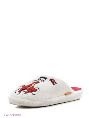 Тапочки Dream Feet. Цвет: белый