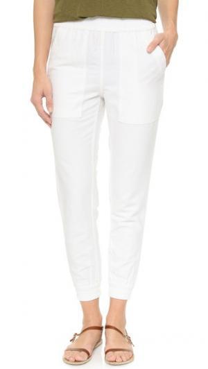 Практичные брюки для бега NLST. Цвет: белый