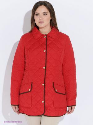 Куртка Baon. Цвет: красный
