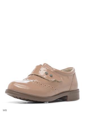 Ботинки San Marko. Цвет: темно-бежевый