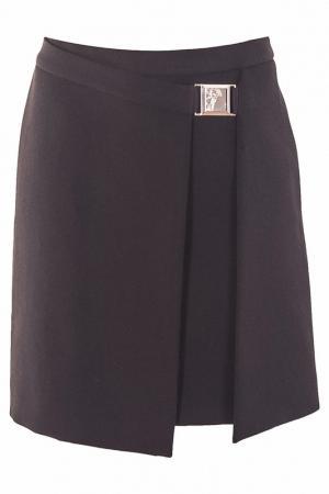Юбка Versace Collection. Цвет: черный