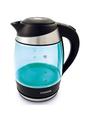 Чайник Starwind SKG2219, бирюзовый. Цвет: бирюзовый