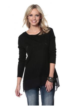 Пуловер Aniston. Цвет: черный