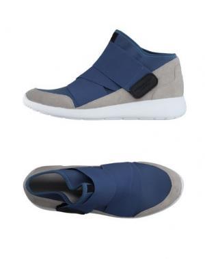 Высокие кеды и кроссовки FESSURA. Цвет: грифельно-синий