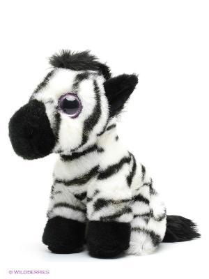 Мягкая игрушка Зебра MAXITOYS. Цвет: черный, белый