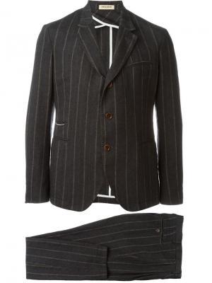 Полосатый костюм-двойка Al Duca D'Aosta 1902. Цвет: серый