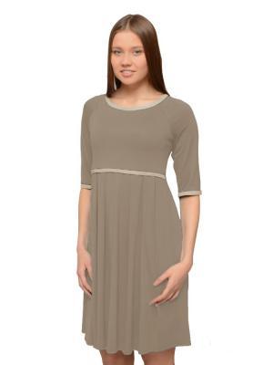 Платье Casual кофе с молоком Ням-Ням
