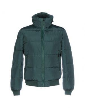 Куртка SSEINSE. Цвет: изумрудно-зеленый