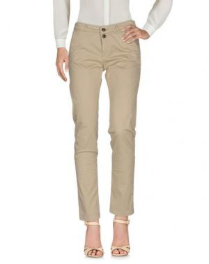Повседневные брюки WOOLRICH. Цвет: хаки