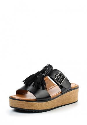 Сабо Ideal Shoes. Цвет: черный
