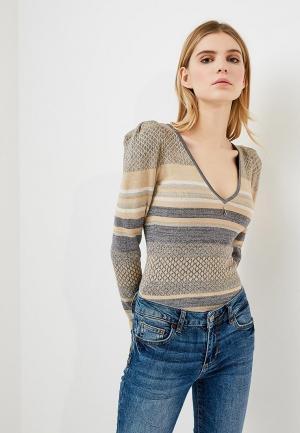 Пуловер Patrizia Pepe. Цвет: разноцветный