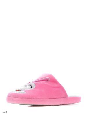 Тапочки Modis. Цвет: розовый