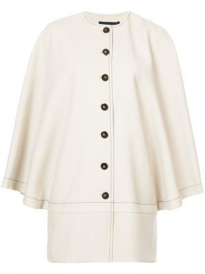Пиджак с расклешенными рукавами Vanessa Seward. Цвет: телесный