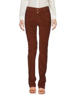 Повседневные брюки FABERGE&ROCHES. Цвет: коричневый