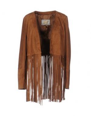 Пиджак VINTAGE DE LUXE. Цвет: коричневый