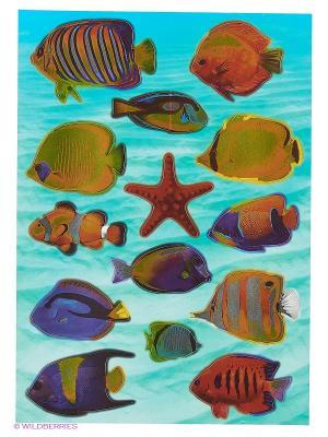 Рыбы Красного моря DECORETTO. Цвет: голубой, оранжевый, желтый, синий