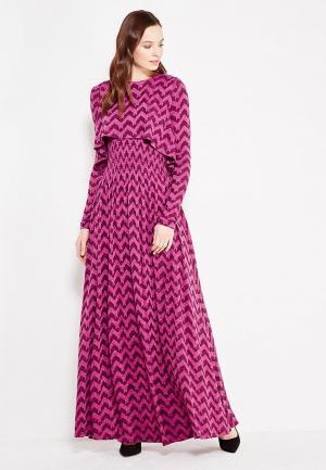 Платье Sahera Rahmani. Цвет: фуксия
