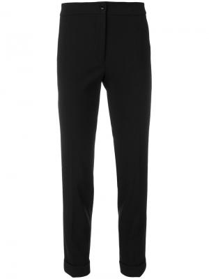 Укороченные брюки узкого кроя Etro. Цвет: none