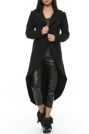 Пальто Ki6 collection. Цвет: черный