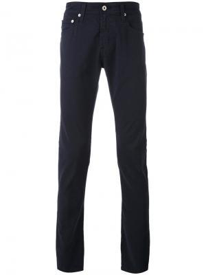 Джинсы скинни Stockton Ag Jeans. Цвет: синий