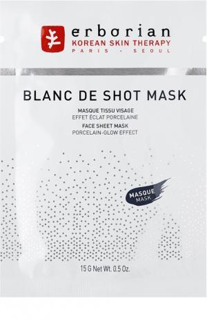 Тканевая маска для сияния кожи Erborian. Цвет: бесцветный