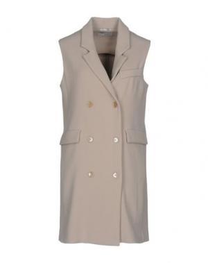 Легкое пальто FAIRLY. Цвет: светло-серый