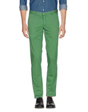 Повседневные брюки DOMENICO TAGLIENTE. Цвет: зеленый