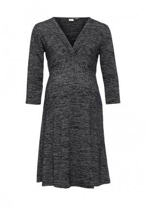 Платье Gap Maternity. Цвет: серый
